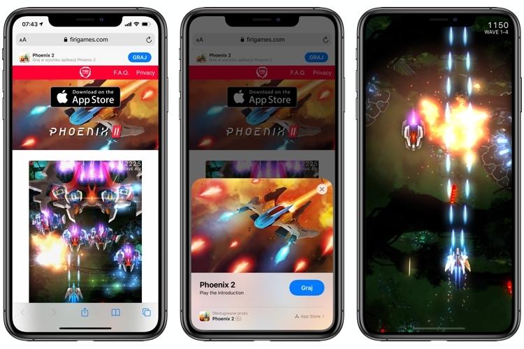 Phoenix 2 demo as App Clip in iOS 14