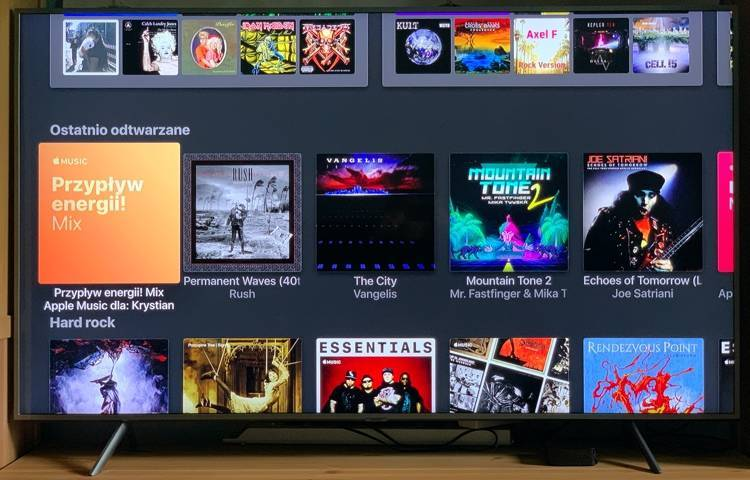 Samsung TV Apple Music